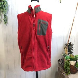 Marmot Full Zip Fleece Vest Medium